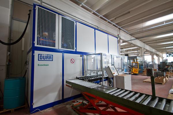 Impianto di sgrassaggio Dürr Ecoclean